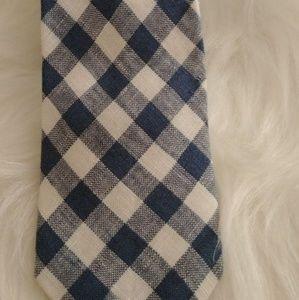 J. Crew 100% cotton necktie